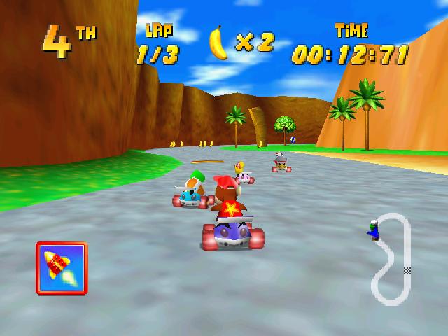 Diddy Kong Racing - Ancient Lake