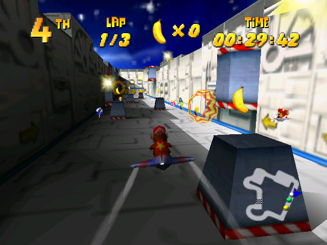Diddy Kong Racing - Spaceport Alpha