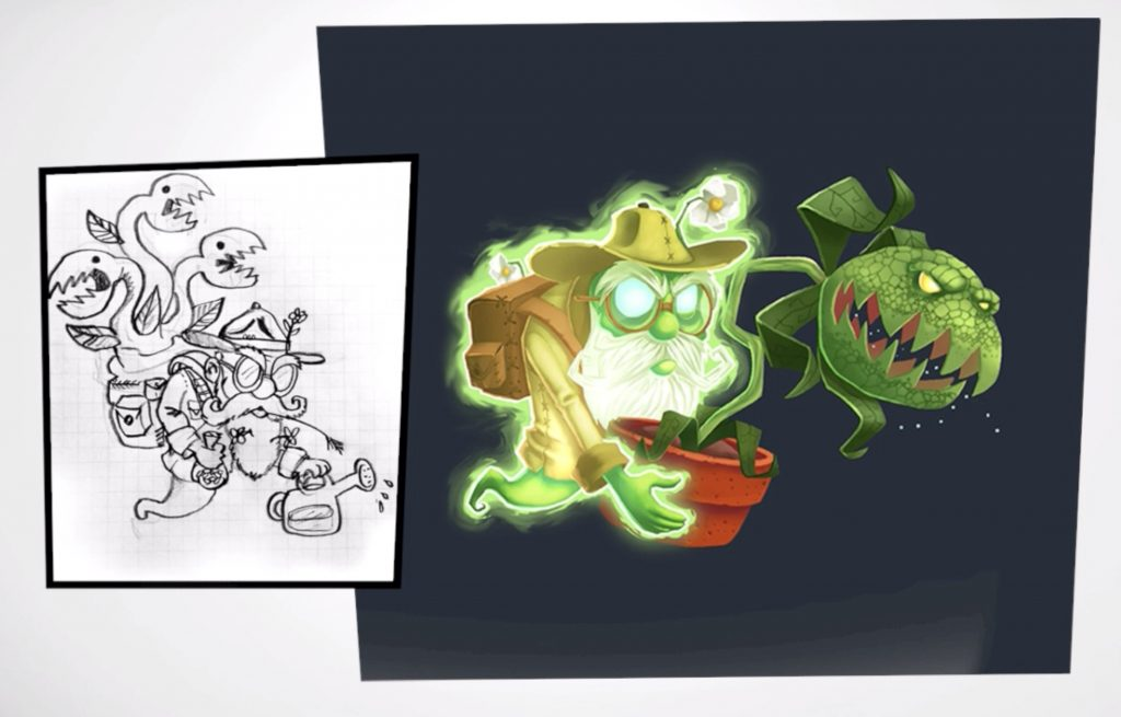 Dr Potter Concept Art