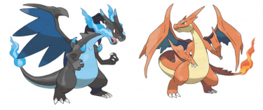 Mega Charizard Artwork