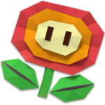 Paper Fire Flower