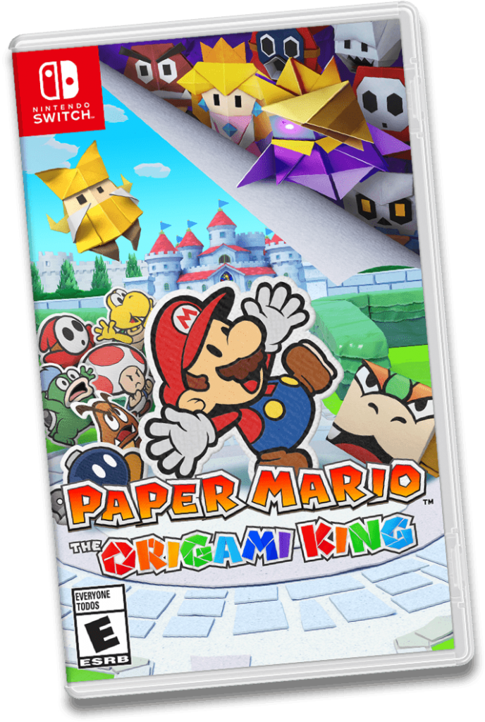 Paper Mario: The Origami King Box