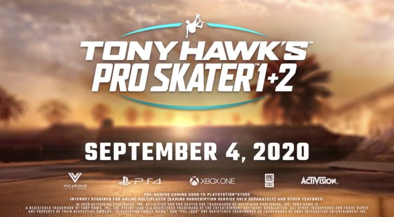 Tony Hawk's Pro Skater 1 and 2 Remake