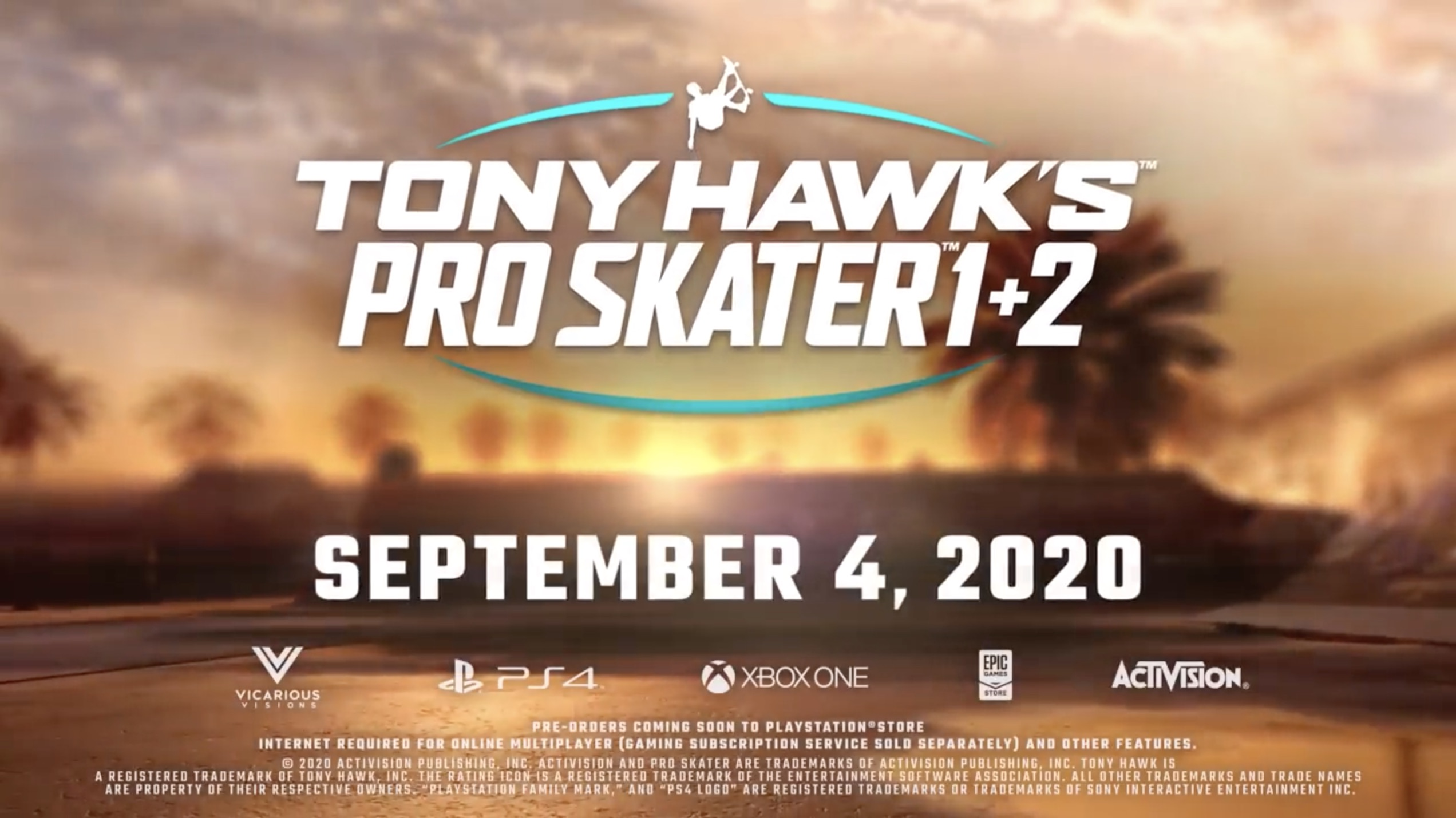 Tony Hawk's Pro Skater 1 and 2 Remake