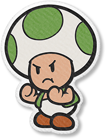 Angry Green Toad