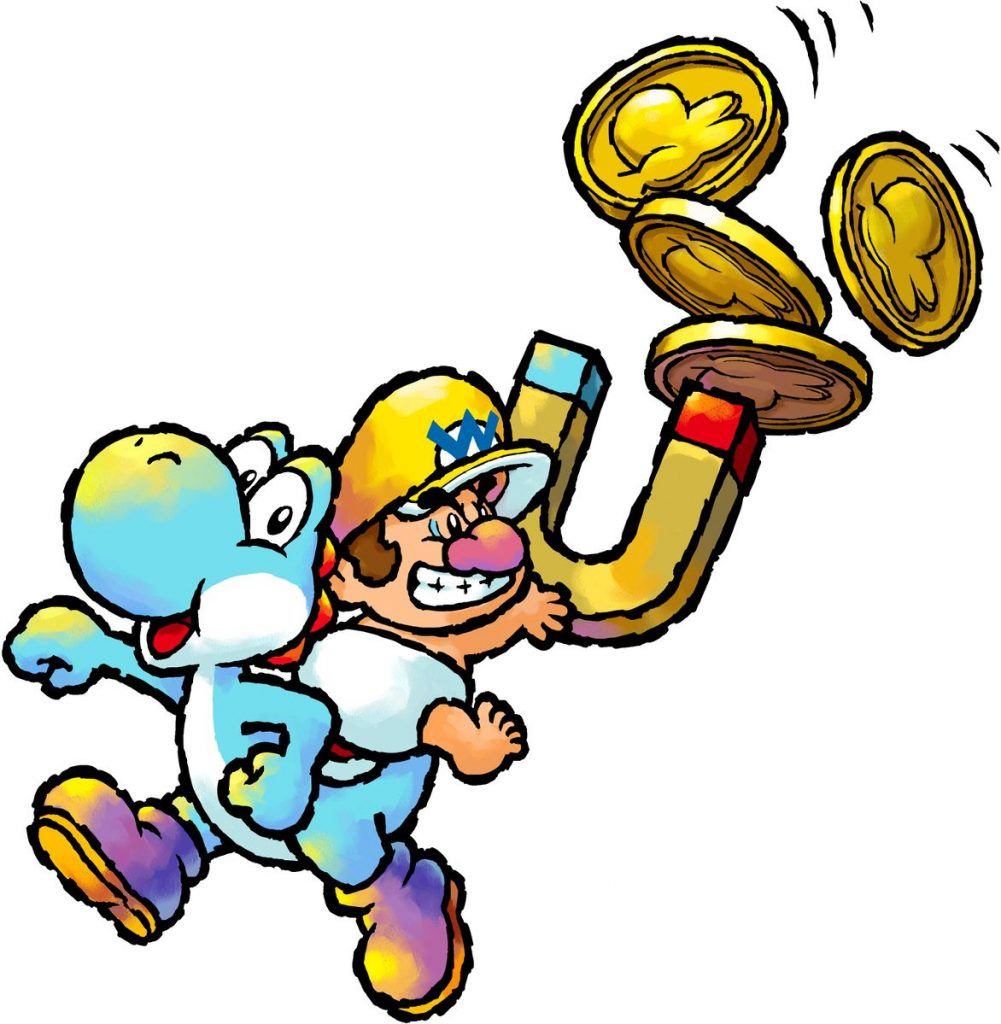 Baby Wario in Yoshi's Island DS