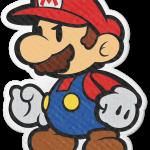 determined Paper Mario