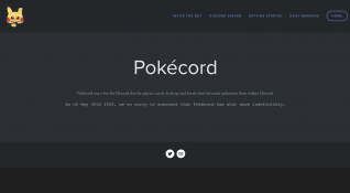 Pokecord Site