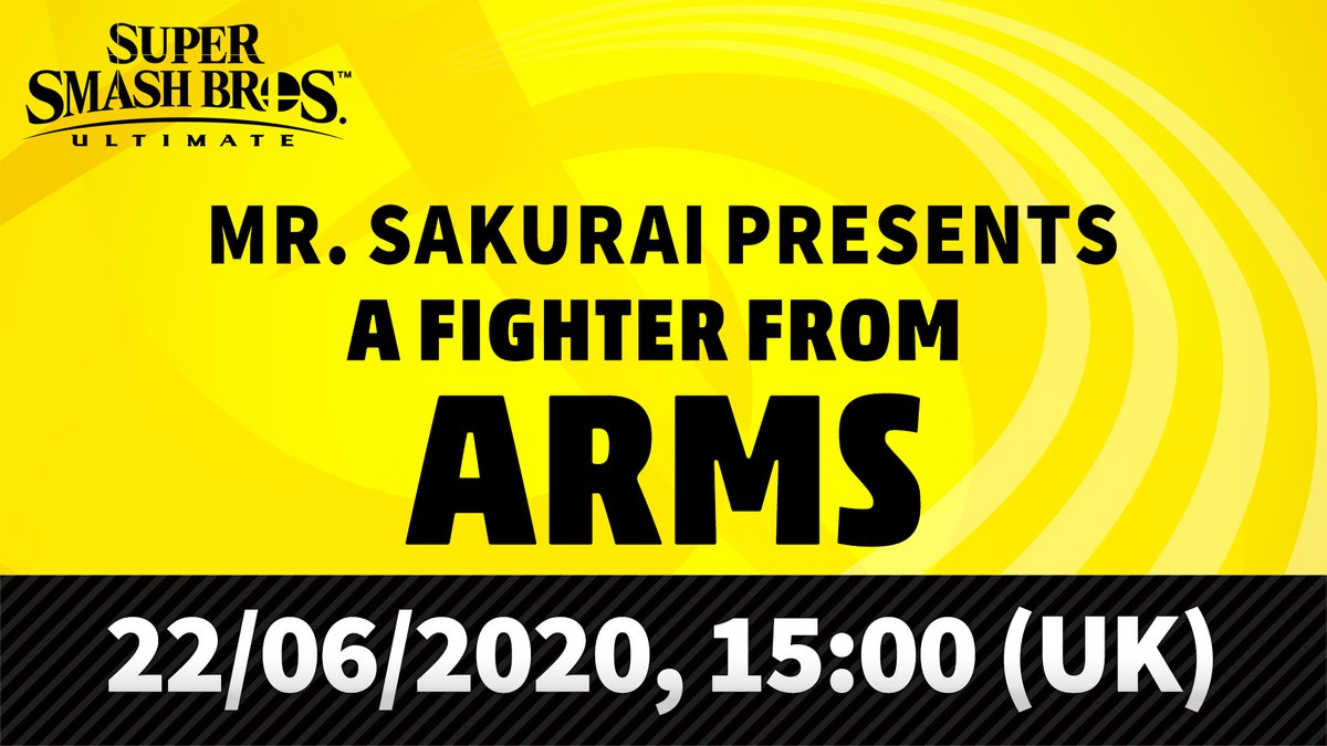 Smash Bros Ultimate ARMS Fighter Reveal