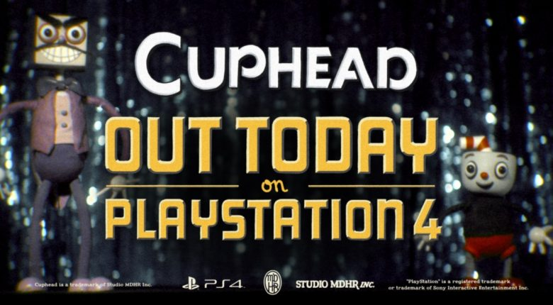 Cuphead PS4 Banner