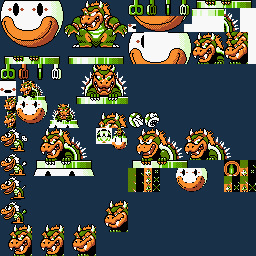 Early Bowser Graphics 2