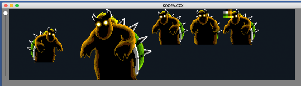 Early Giant Bowser