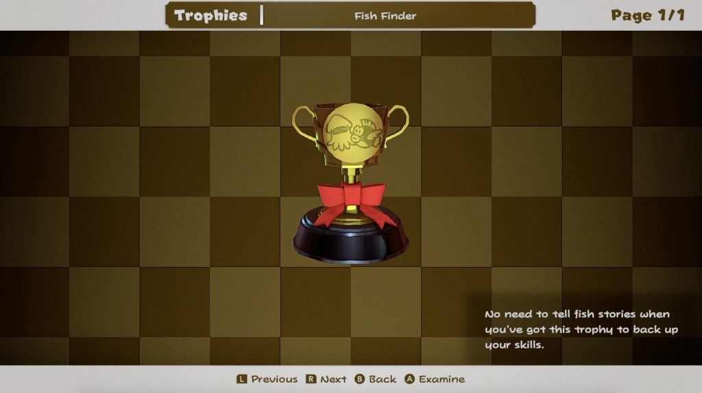Fish Finder Trophy