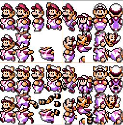 SMW Raccoon Mario