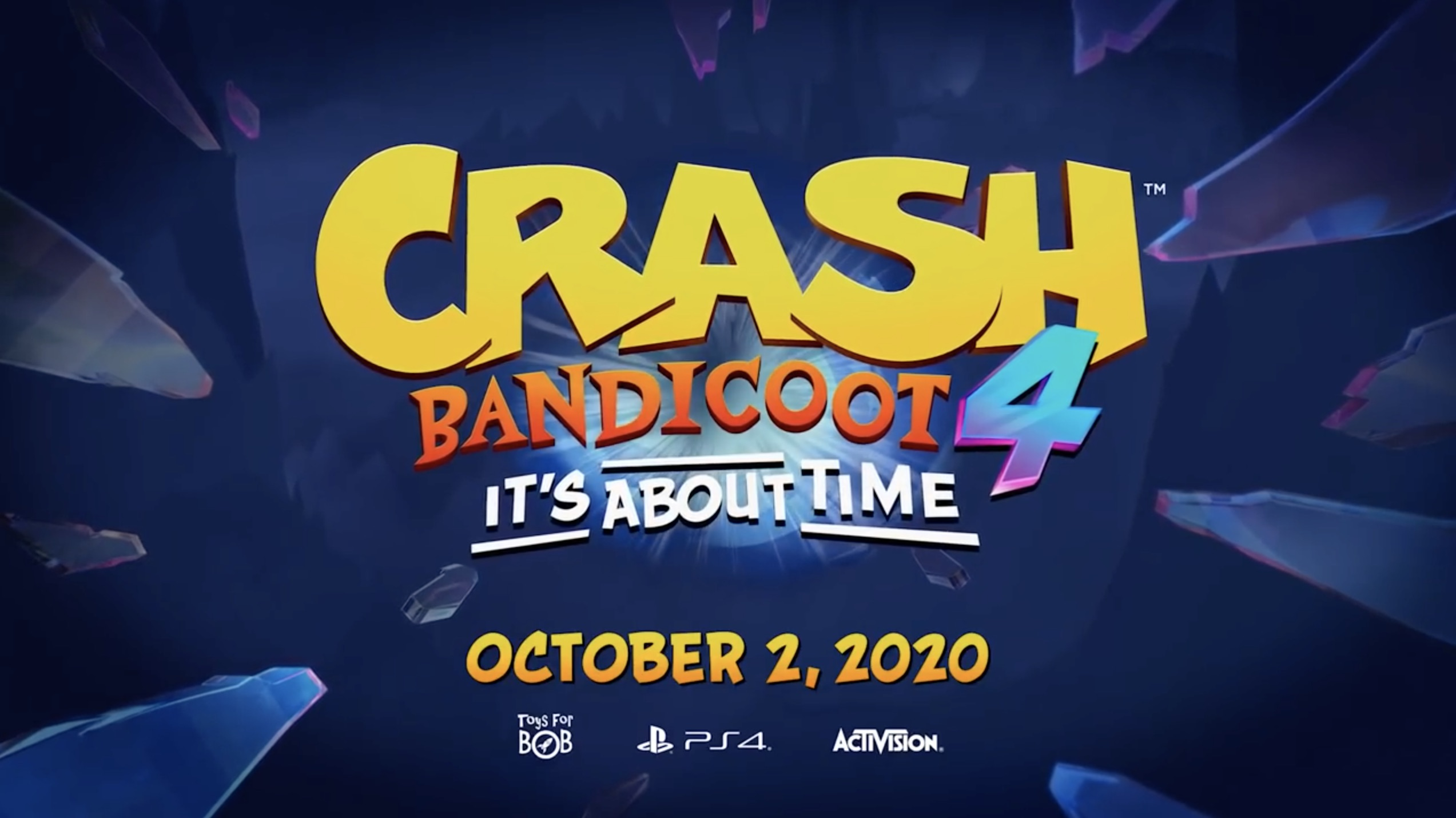 Crash 4 Banner