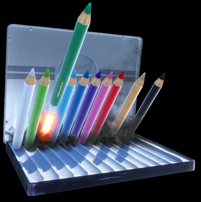 PMOK Coloured Pencils
