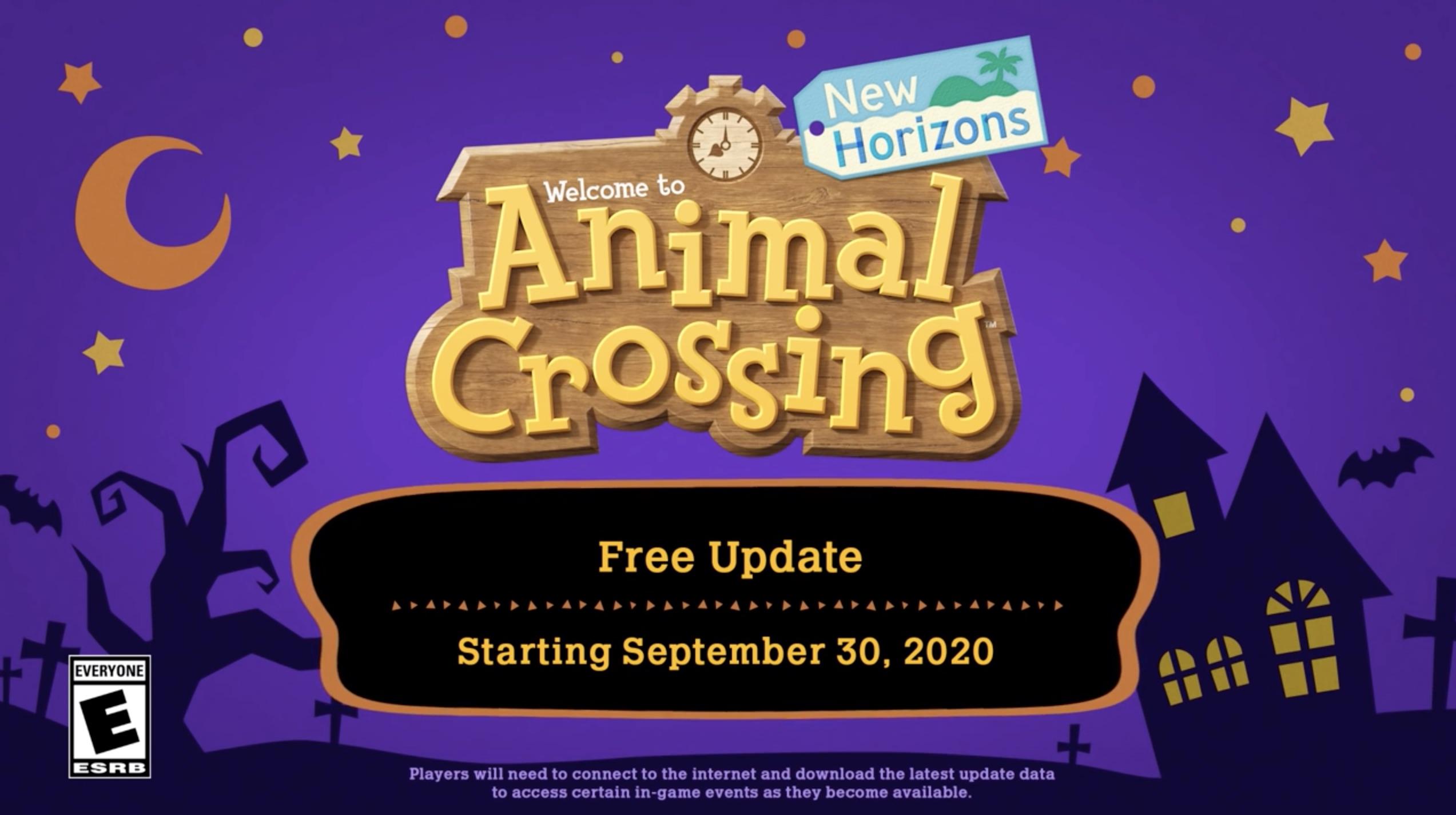 Animal Crossing Fall Update