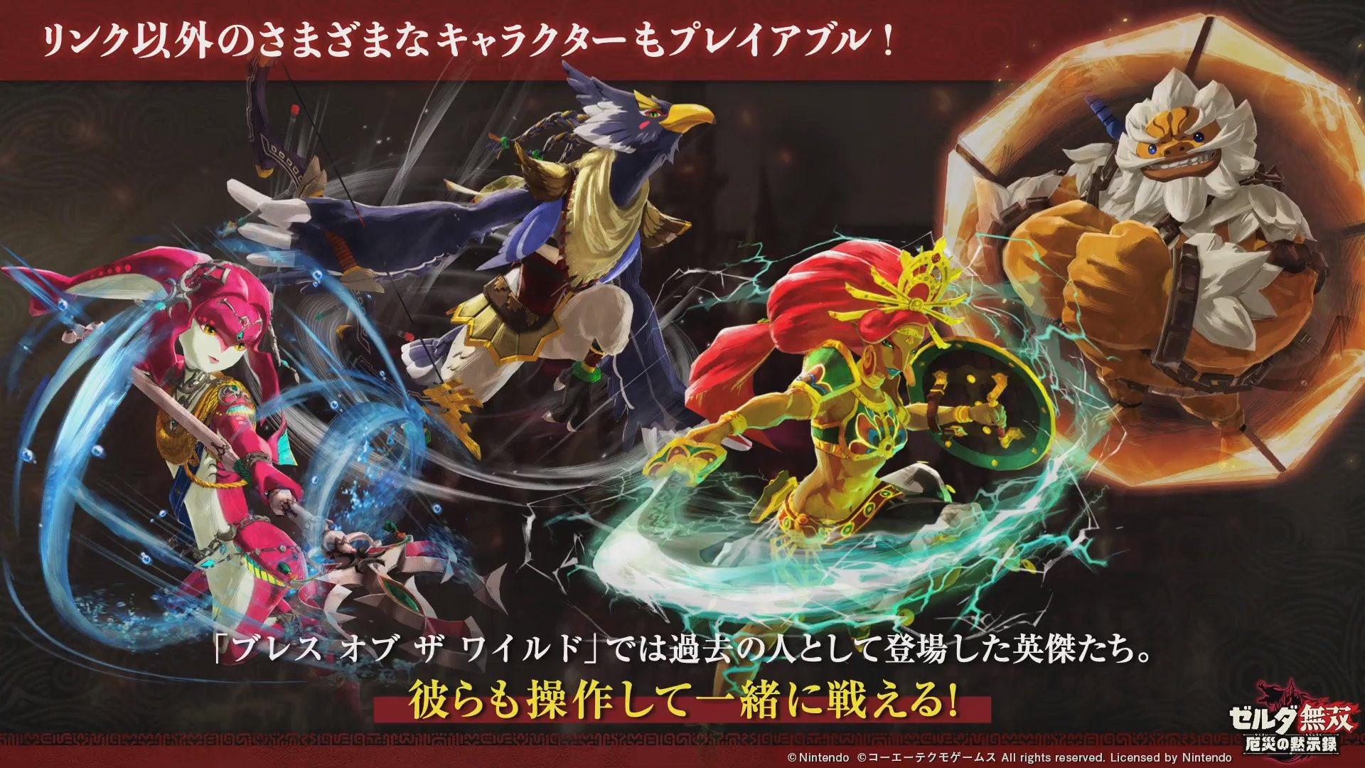 Hyrule Warriors Age of Calamity ChampionArtwork