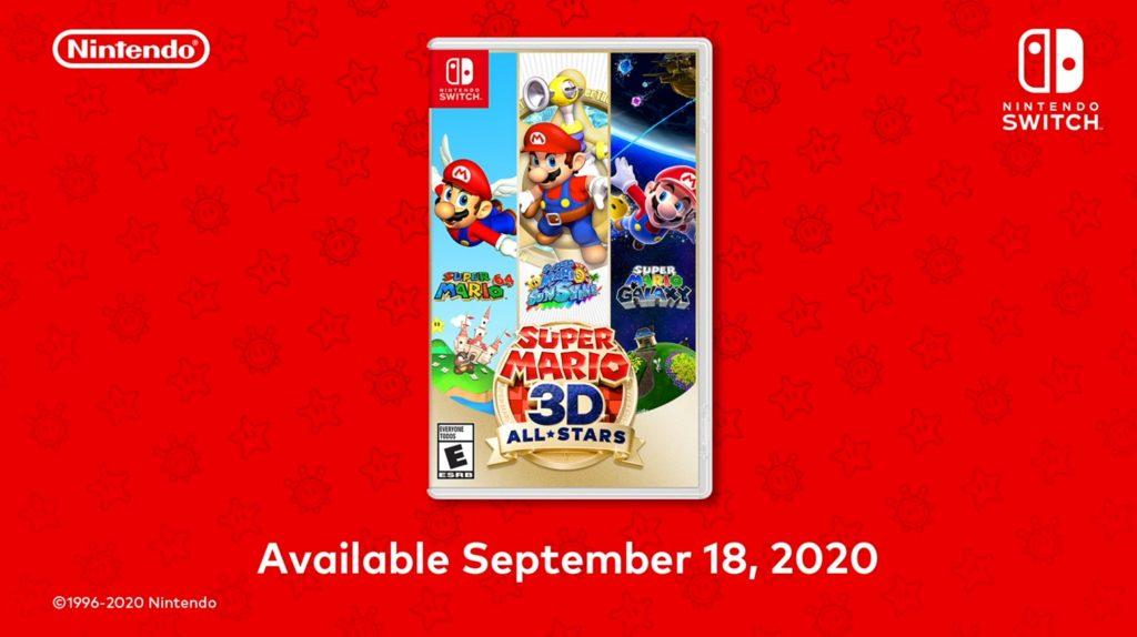 Mario 3D AllStars Box Art