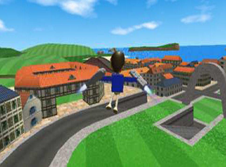 Wii Sports Jetpack Mini game