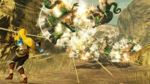 Zelda Stasis Vs Lizalfos