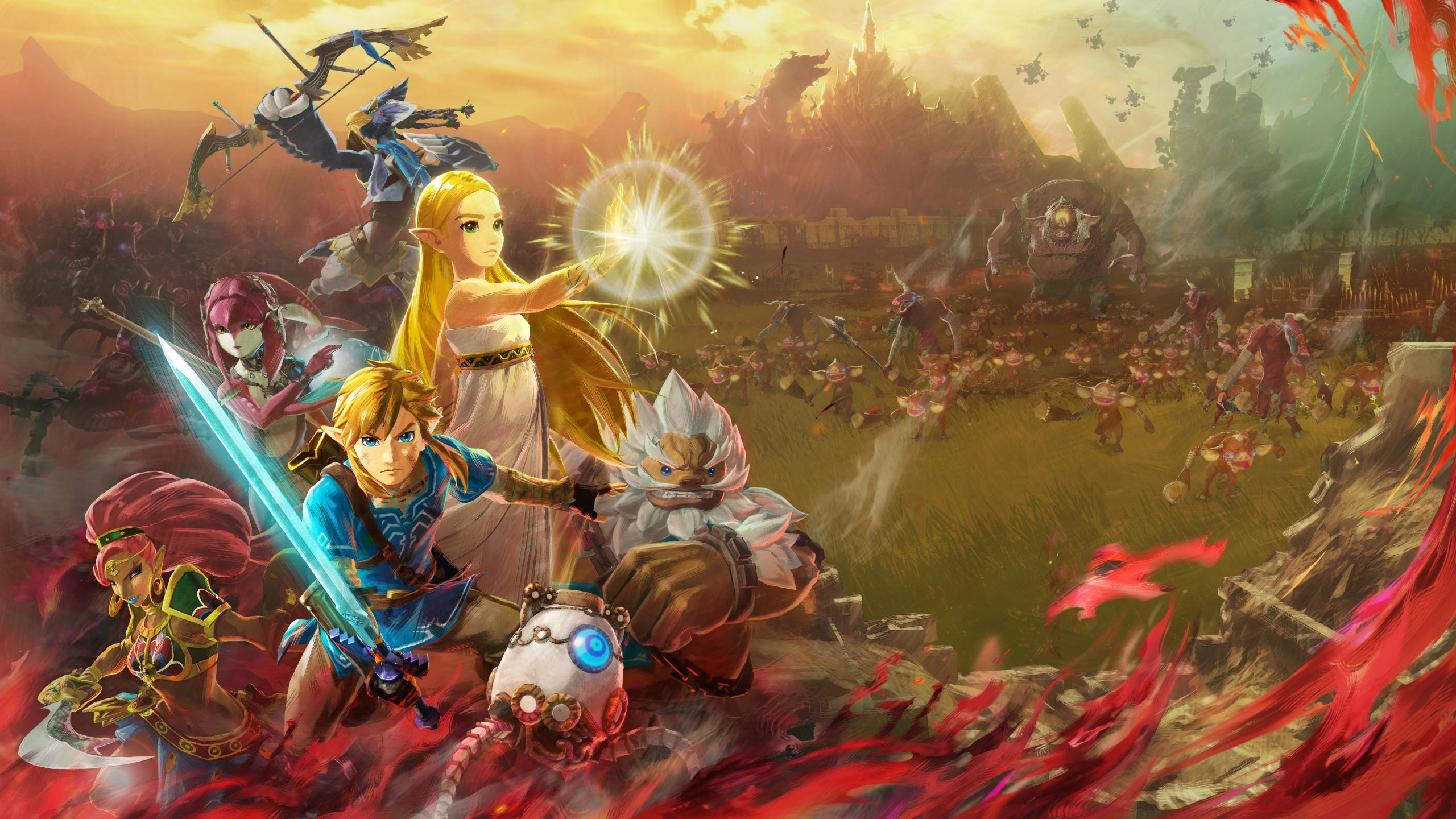 Hyrule Warriors: Age of Calamity Artwork