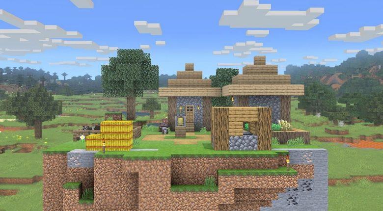 Minecraft Stage Smash Bros