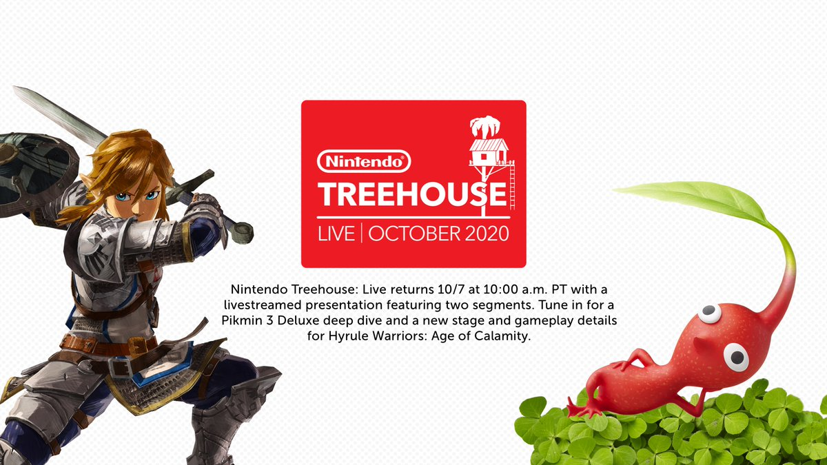 Nintendo Treehouse Live October