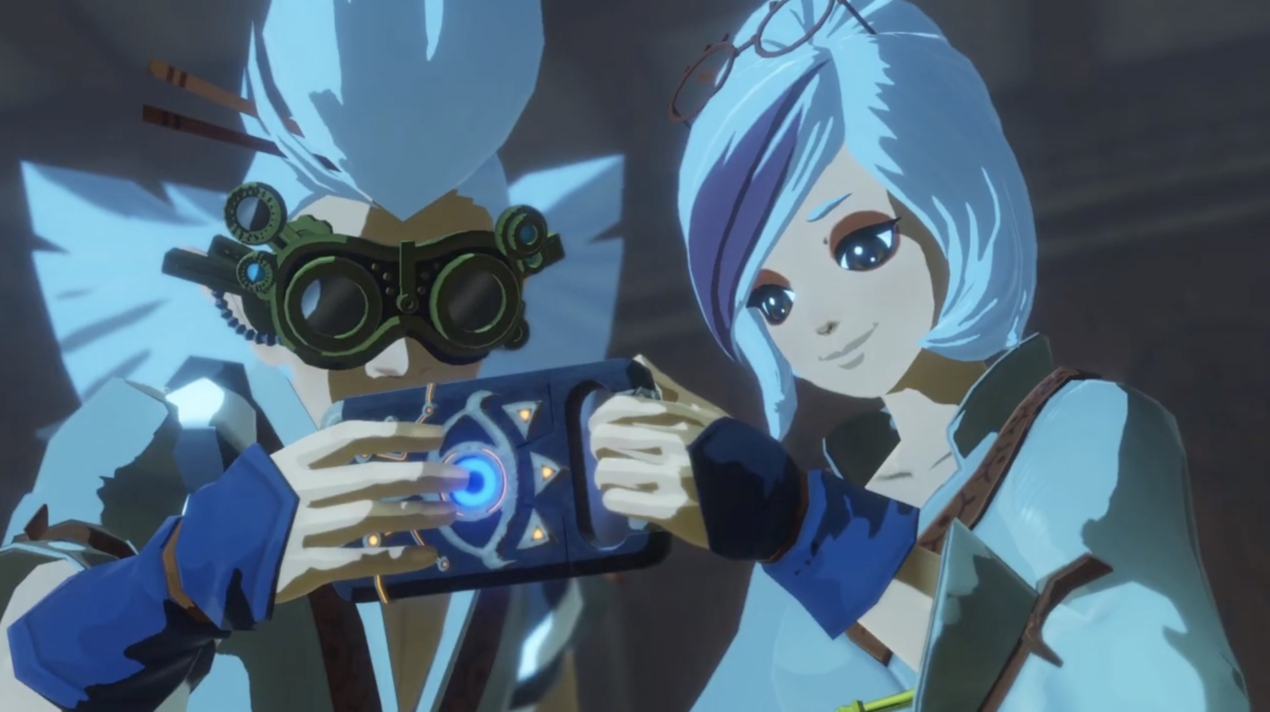 New Hyrule Warriors Age Of Calamity Trailer Shows Off Adult Purah Robbie Gaming Reinvented