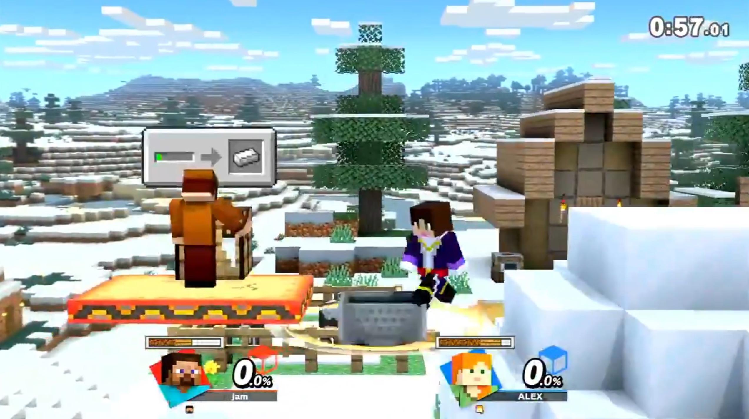 Smash Bros Ultimate Minecraft Mod