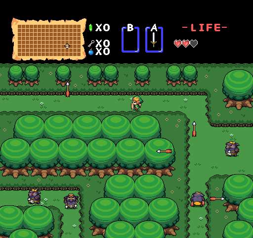 Zelda Remastered Forest