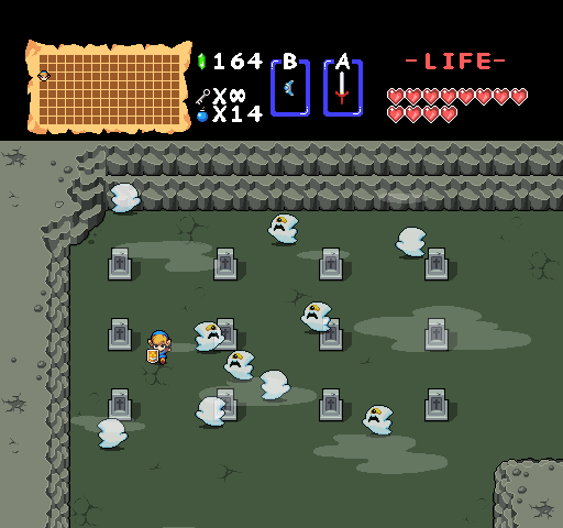 Zelda Remastered Graveyard