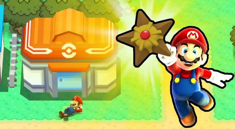 Pokémon Diamond in Super Mario Galaxy