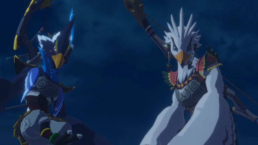 Revali and Teba