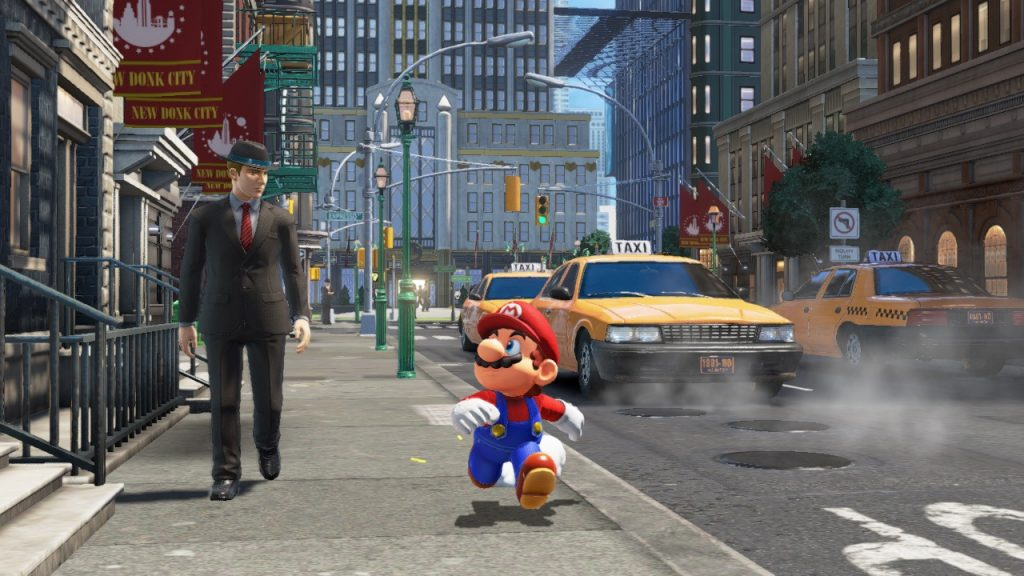 Mario Odyssey New Donk City Promo Shot