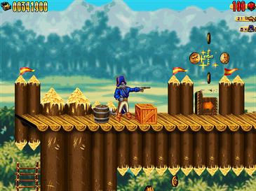 Captain Claw Screenshot