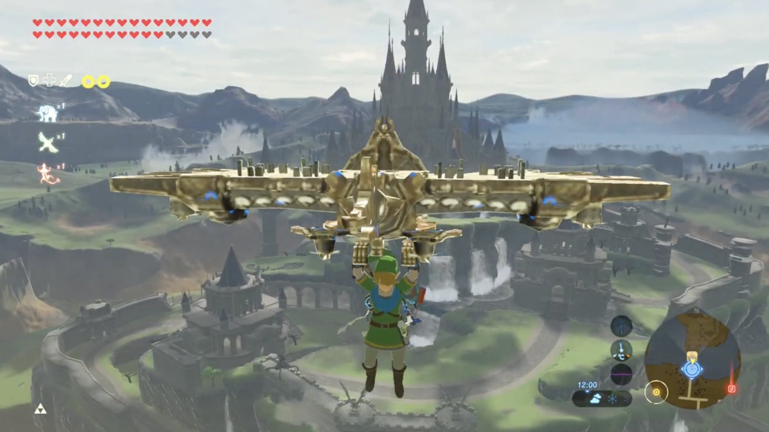 Modder Rebuilds Breath Of The Wild S Hyrule Castle As It Looked Prior To The Calamity Gaming Reinvented