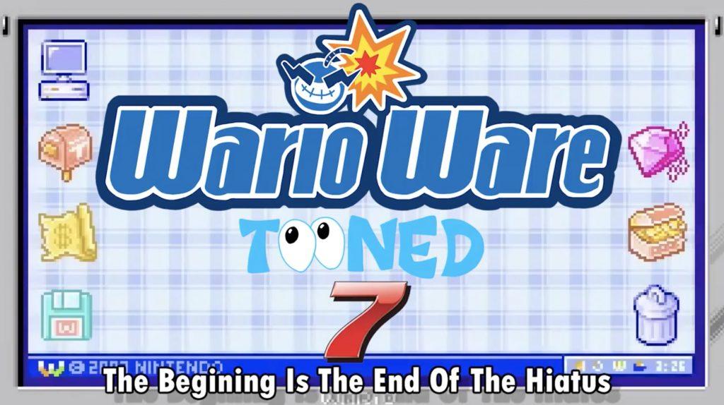WarioWare Tooned Title