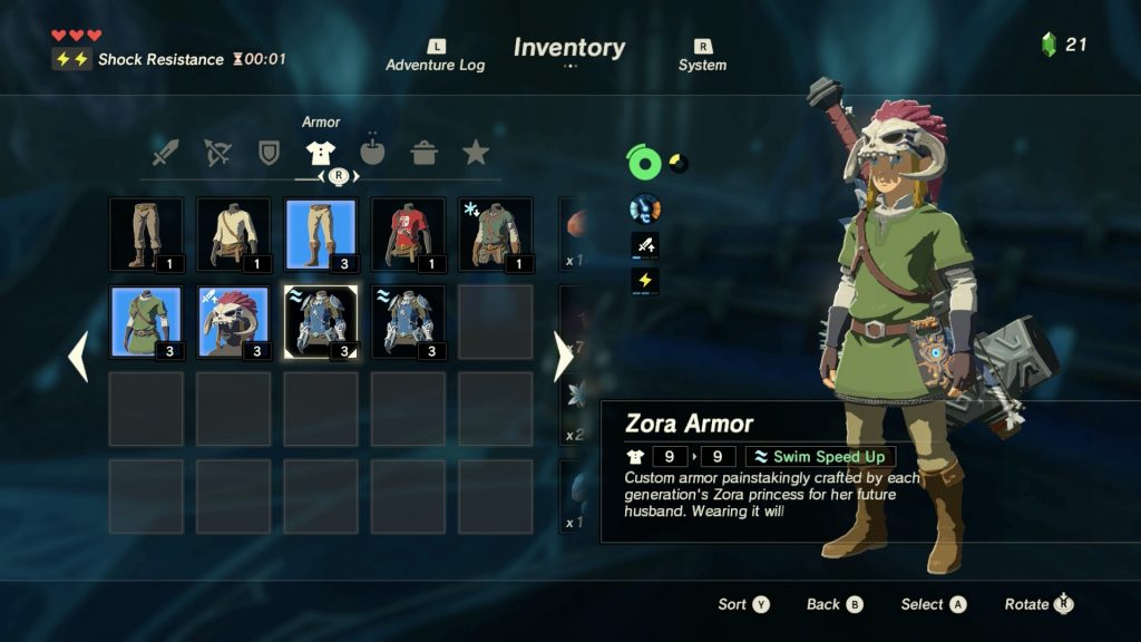 Multiple Copies Zora Armour