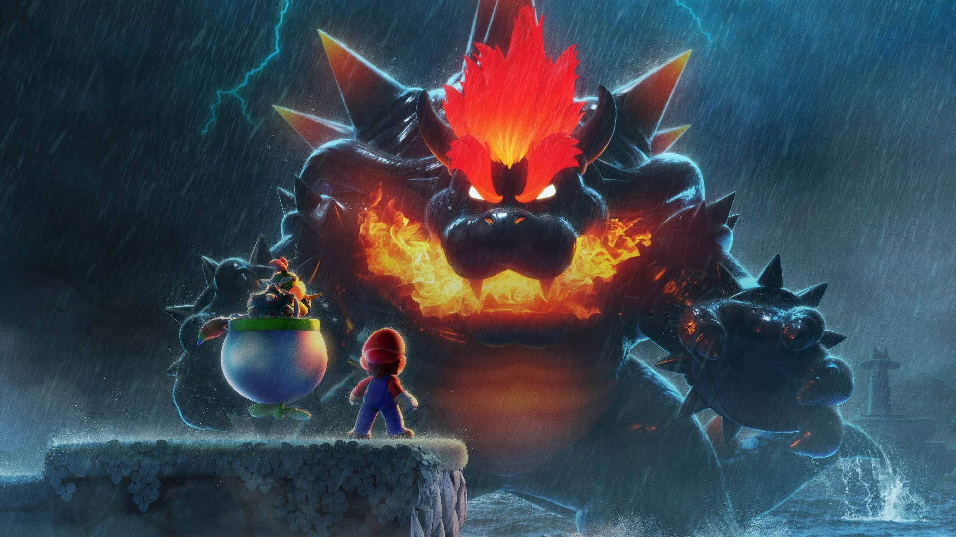 Bowser's Fury Artwork