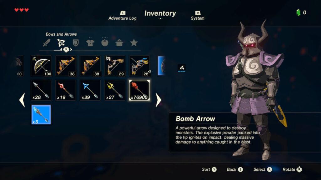 A Few Bomb Arrows