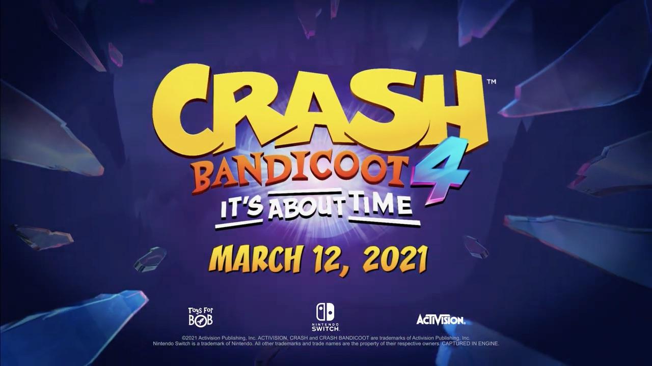 Crash 4 Switch Release