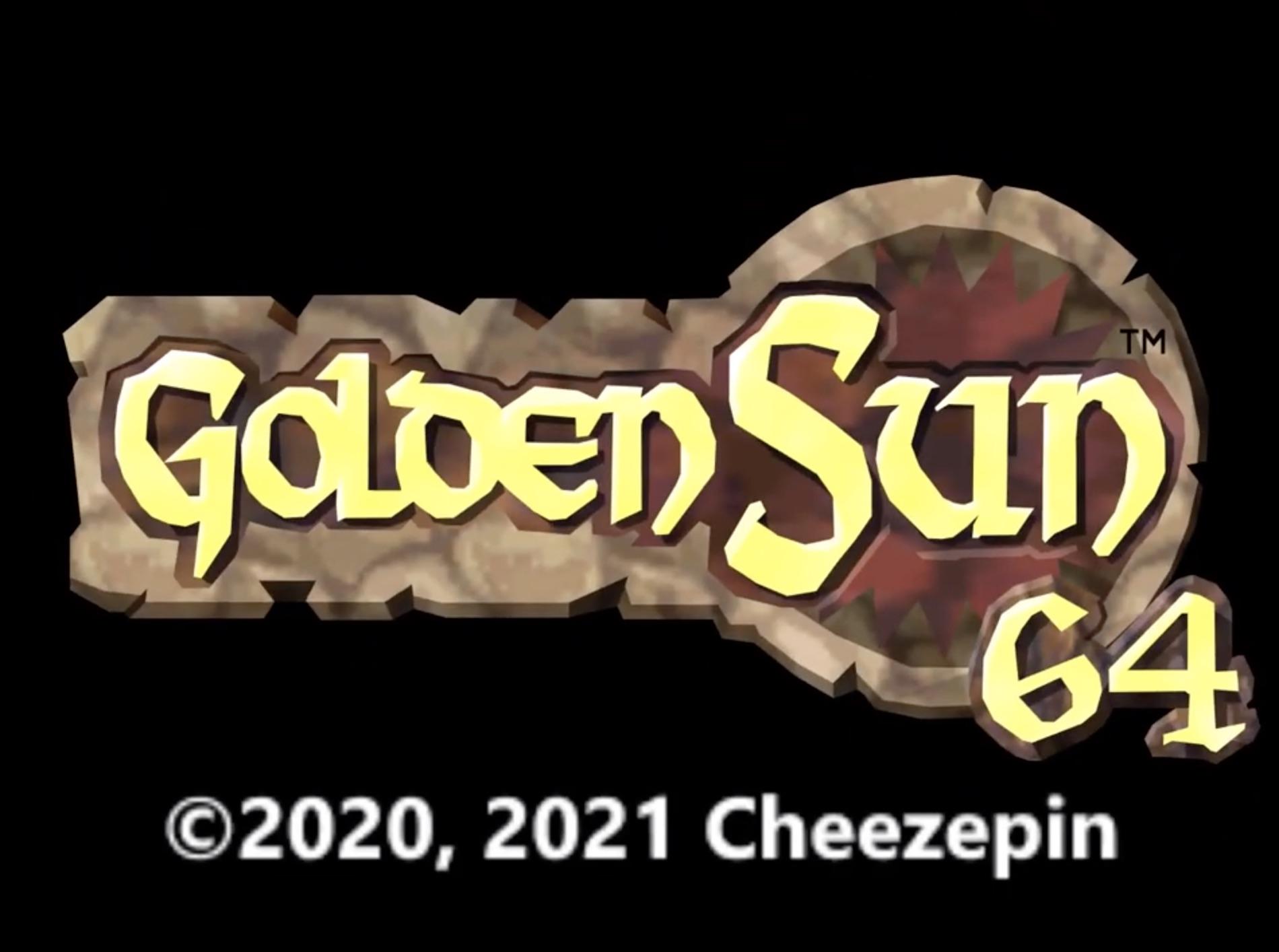 Golden Sun 64 Title