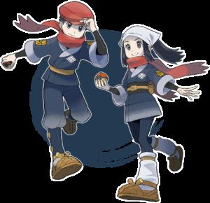Pokemon Legends Arceus Trainers