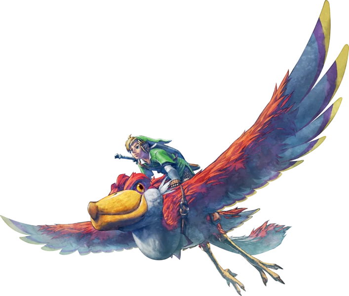 Link Flying his Loftwing