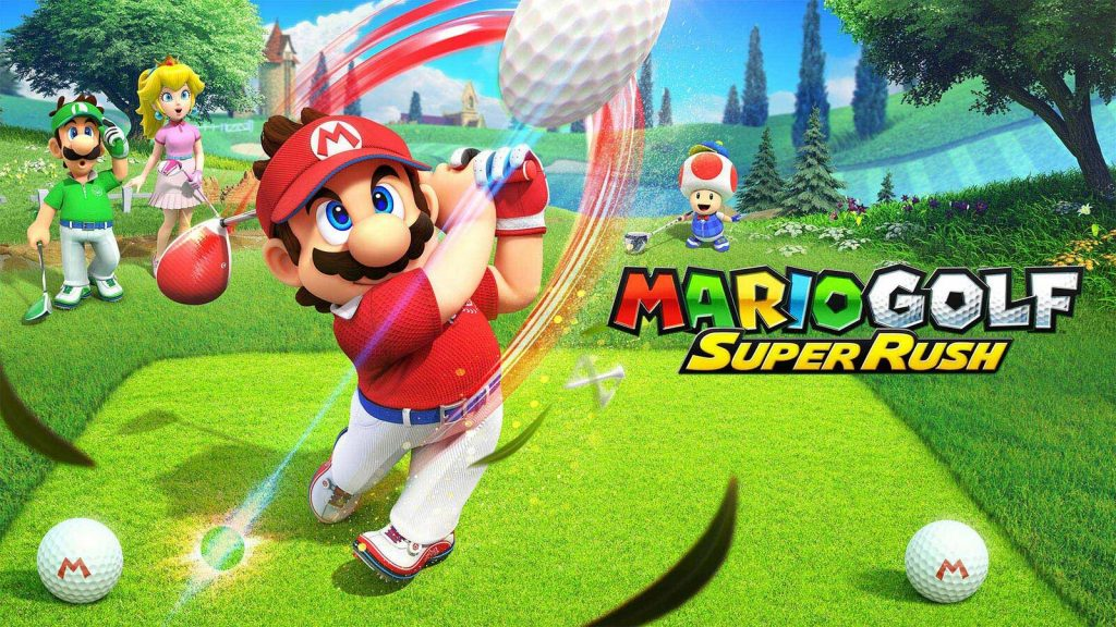 Mario Golf: Super Rush Artwork