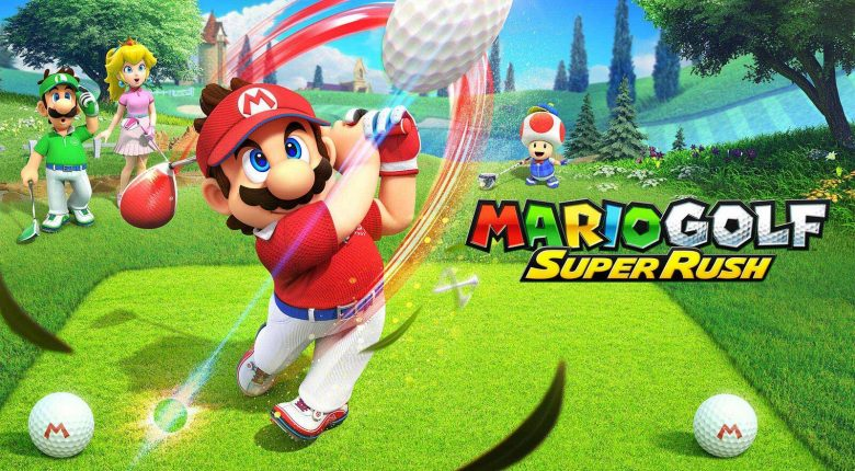 Mario Golf: Super Rush Artwork