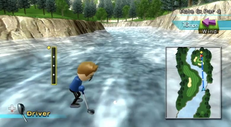 Wii Sports Out of Bounds