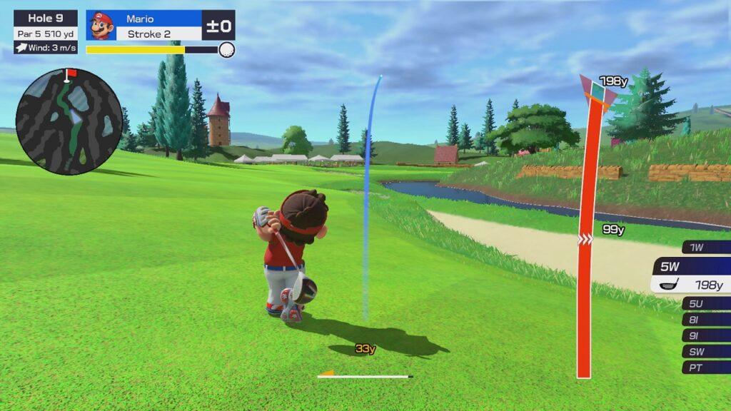 Mario Golf: Super Rush Screenshot 1