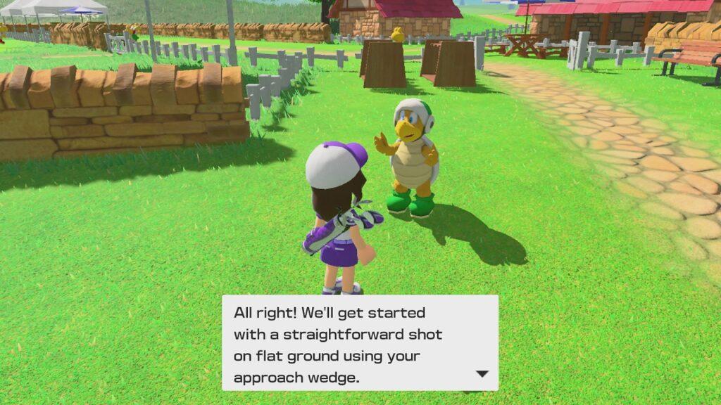 Mario Golf: Super Rush Screenshot 2